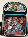 "Monster High Fierce Friends 16"" Large Backpack"