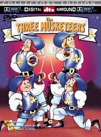 The Three Musketeers (Burbank Films Australia, 1986)