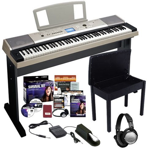 Best yamaha ypg 535 portable grand home bundle w stand for Yamaha ypg 535