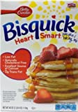 Bisquick Heart Smart Pancake and Baking Mix Reduced Fat, 40-Ounce Boxes (Pack of 3)