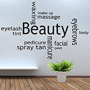Beauty salon wall quotes quotesgram for Aberdeen college beauty salon