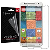 Vena® Motorola Moto X 2nd Gen Screen Protector [vShield] [Anti-Glare (Matte) Finish] Ultra Smooth Screen Protector Shield Film for Motorola Moto X 2nd Gen (2014) - Lifetime Replacement Warranty (3 pack)