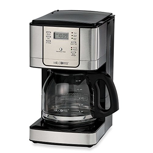 Mr. Coffee JWX Series 12-Cup Programmable Stainless Steel Coffee Maker (Mr Coffee Stainless Steel 12 Cup compare prices)