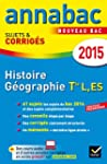 Annales Annabac 2015 Histoire-G�ograp...