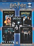 Harry Potter Movies 1-5, w. Audio-CD, for Trumpet (Harry Potter Instrumental Solos (Movies 1-5): Level 2-3)