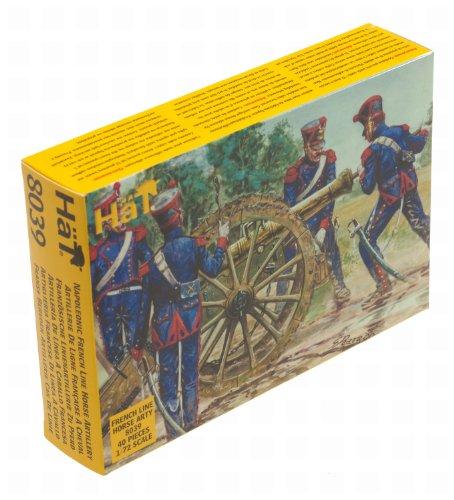 hat-industrie-modellini-in-scala-173-soldati-artiglieria-a-cavallo-napoleone-francia