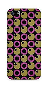 Amez designer printed 3d premium high quality back case cover for Apple iPhone 5 (Abstract 1)