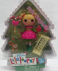 Lalaloopsy Exclusive 3 Inch Mini Figure with Accessories Holly Sleighbells