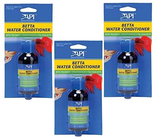 API Betta Water Conditioner 1.7oz (Pack of 3) (Betta Safe Water Conditioner compare prices)