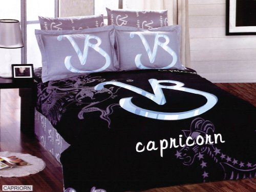 Capricorn Arya Zodiac Horoscope Collection Duvet