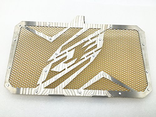 Gold Motor Stainless Steel Radiator Guard Cover Protector For YZF R3 (Fz1 Radiator compare prices)