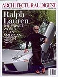 Architectural Digest September 2013 Ralph Lauren
