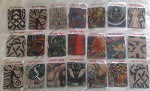 Fake Tattoo Sleeve -Evil Skull & Tribal (T36)