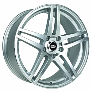 17×7.5 Enkei RSF5 (Silver Machined) Wheels/Rims 5×114.3 (479-775-6540SM)