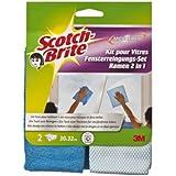 Scotch-Brite Microfibre Kit pour Vitres