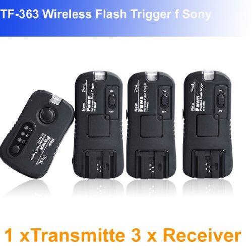 Pixel Pawn TF363 Flash Trigger f Sony 1 Transmitte 3 Receiver flashgun trigger
