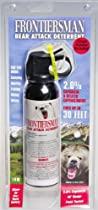 Sabre Frontiersman Bear Attack Deterrent with Chest Holster (9.2-Ounce)