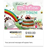 Amazon Gift Card - E-mail - Birthday Fantasy (Animated) [American Greetings]
