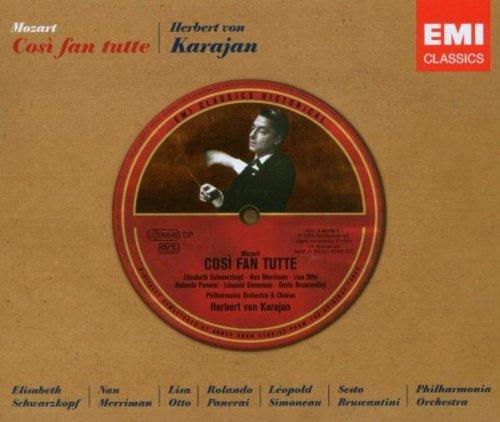 Cosi Fan Tutte - Mozart - CD