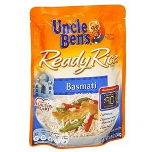 Amazon.com : Uncle Ben's Basmati Ready Rice : Basmati Rice