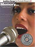 AUDITION SONGS FOR FEMALE SINGERS 3 PVG BOOK/CD