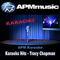 Karaoke Hits - Tracy Chapman
