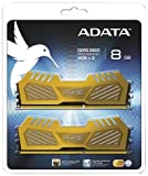 A-DATA DDR3-2600 4GB*2 GOLD  AX3U2600W4G11-DGV