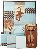 Lambs & Ivy Giggles 5 Piece Crib Bedding Set Reviews