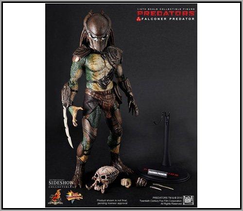 "Hot Toys Movie Masterpiece Predator Falconer Predator 12"" Figure"