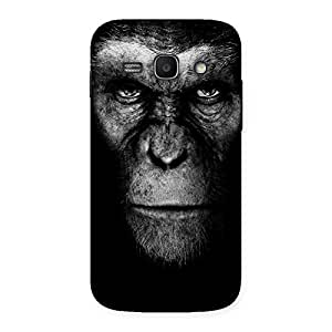 Delighted Chimp King Black Back Case Cover for Galaxy Ace 3
