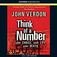 Think of a Number Audiobook by John Verdon Narrated by Jeff Harding