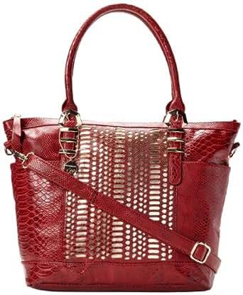 BIG BUDDHA Breve Shoulder Bag,Red,One Size