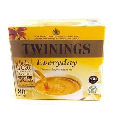 Twinings Everyday 80 Btl. 250g - Schwarzer Tee für jede Tageszeit von R. Twinings and Company Ltd. auf Gewürze Shop