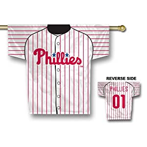 Philadelphia Phillies MLB 2 Sided Jersey Banner  by Fremont Die