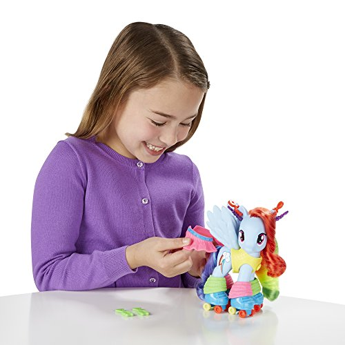 My Little Pony Fashion Style Rainbow Dash Figure Sporting Goods Outdoor Recreation Skating Ice