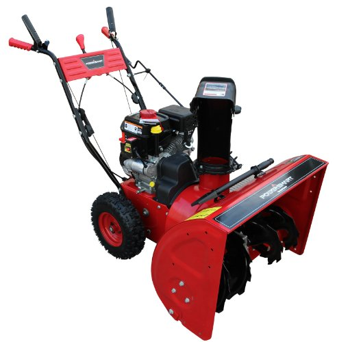 Gas Powered Snow Blowers : Power smart db inch cc lct gas powered stage