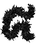Deluxe Large Black 72 Costume Accessory Feather Boa [Apparel]