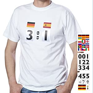 result shirt Fußball T-Shirt Fan-Set EM 2012 XS