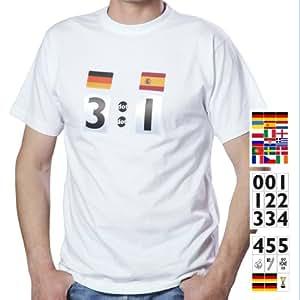 result shirt Fußball T-Shirt Fan-Set EM 2012 XS