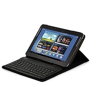 Sharon - Funda con teclado inalámbrico para Samsung Galaxy