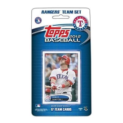 MLB Texas Rangers 2012 Topps Team Set