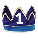 Lil Prince 1st Birthday Plush Crown