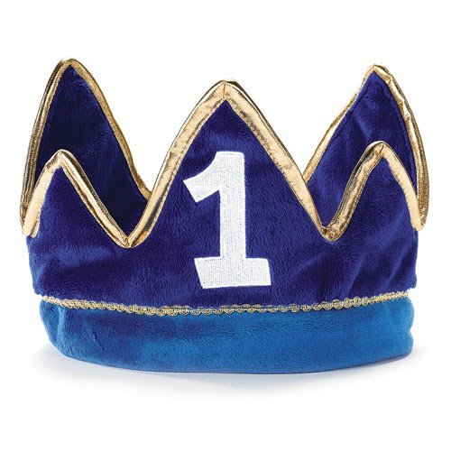 Learn More About Lil' Prince 1st Birthday Plush Crown