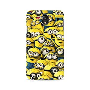 Ebby Minion Cluster Premium Printed Case For Samsung Note 3 N9006