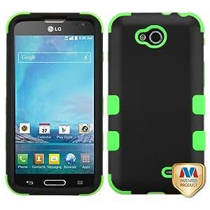 Amazon.com: MyBat Rubberized TUFF Hybrid Phone Protector Cover for LG