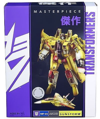 Transformers Masterpiece Edition Sunstorm MP-05 (TRU Exclusive) by Transformers