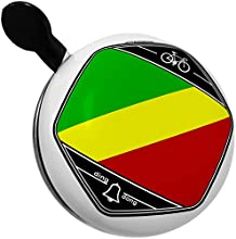 Bicycle Bell Republic of Congo Flag by NEONBLOND