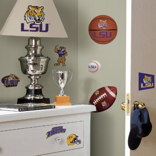 Louisiana State Tigers (LSU) - Removable Wall Decals at Amazon.com