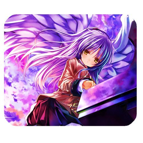 Angel Beats Japanese Anime Lovely Girl Personalized Rectangle Mouse Pad