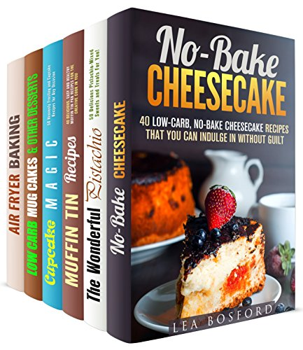 Luscious Treats Box Set (6 in 1): Easy and Healthy Desserts You Can Indulge Without Guilt by Lea Bosford, Elena Chambers, Melissa Hendricks, Sherry Morgan, Wendy Cole